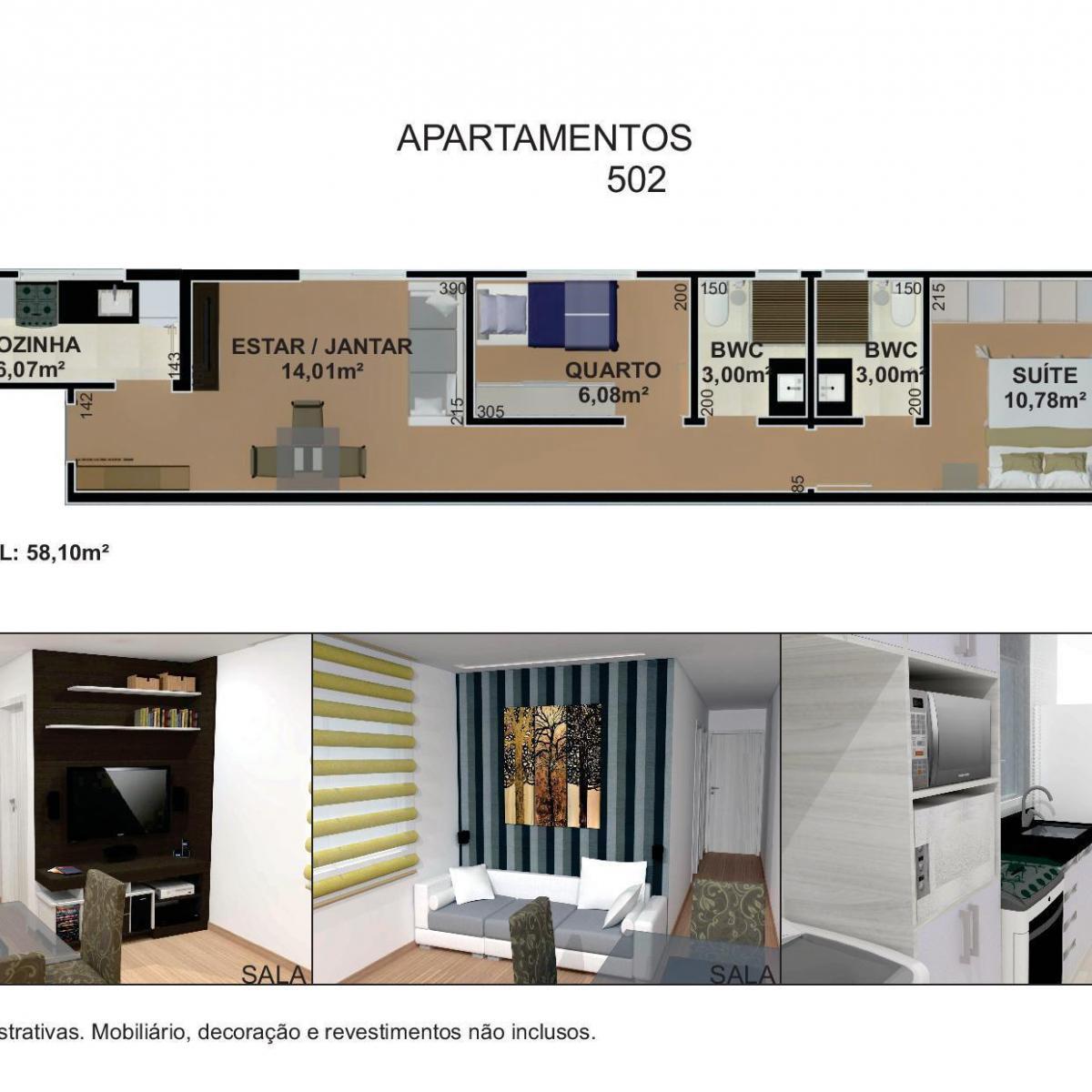 Apartamento à venda com 2 Quartos Portão Curitiba Consultar  #786A48 1200 1200