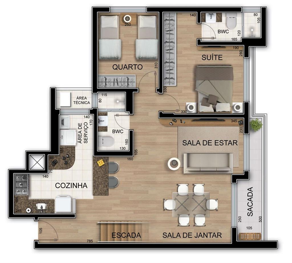 #7F674C Apartamento à venda com 3 Quartos Cabral Curitiba R$ 902.500 247  1024x923 px Banheiro Ideal Ltda 3001