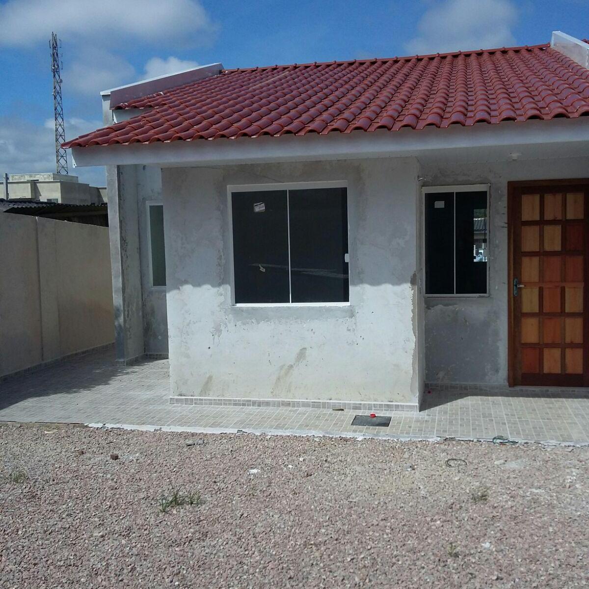 Casa à venda com 3 Quartos Gralha Azul Fazenda Rio Grande R$ 160  #376494 1200x1200 Banheiro Azulejado