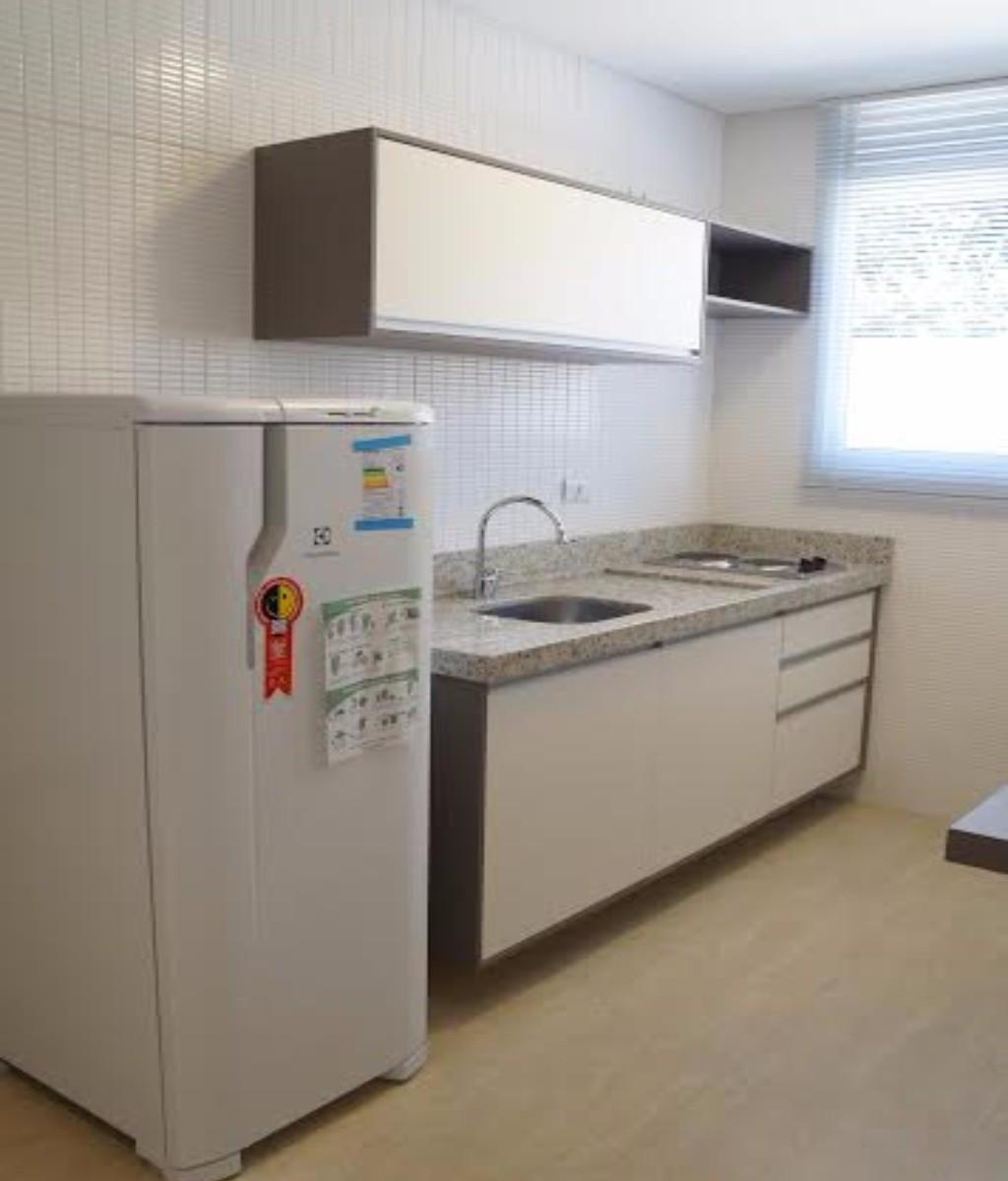 Apartamento para aluguel com 1 Quarto Alto da XV Curitiba R$ 1.550  #664934 1024x1200 Banheiro De Apartamento Tipo Studio