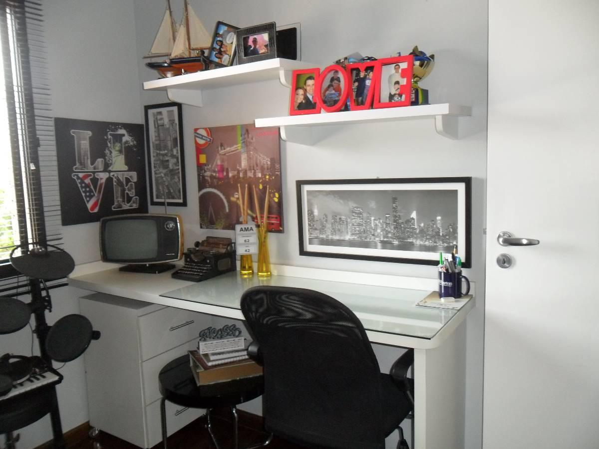 Apartamento à venda com 4 Quartos Alto da Boa Vista São Paulo R$  #B6151F 1200x900 Alarme Banheiro Deficiente