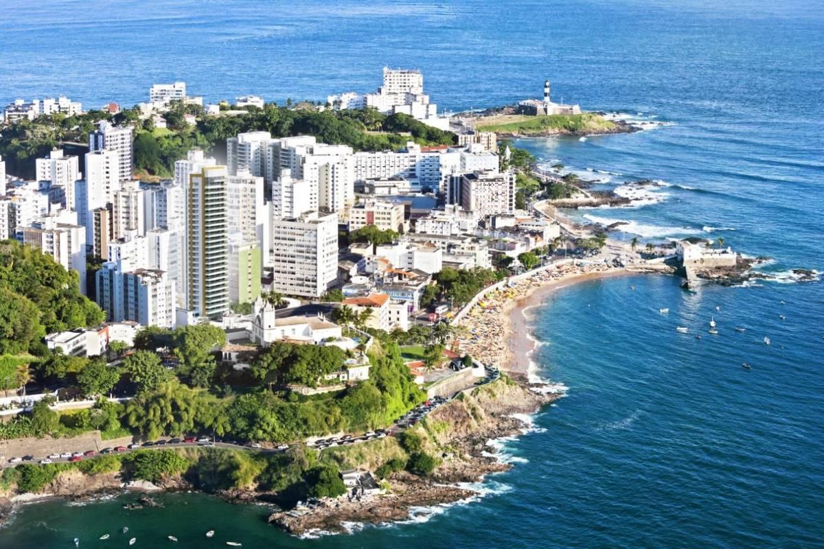 Imagens de #104A68 Apartamento à venda com 4 Quartos Barra Salvador R$ 2.468.000  1200x800 px 3482 Blindex Para Banheiro Salvador Bahia