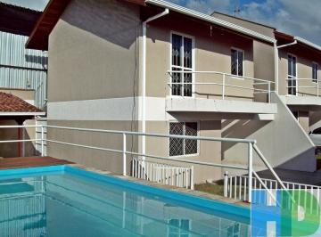 Sobrado em condominio, Cajuru, 3 dormitórios, piscina, mobiliado.