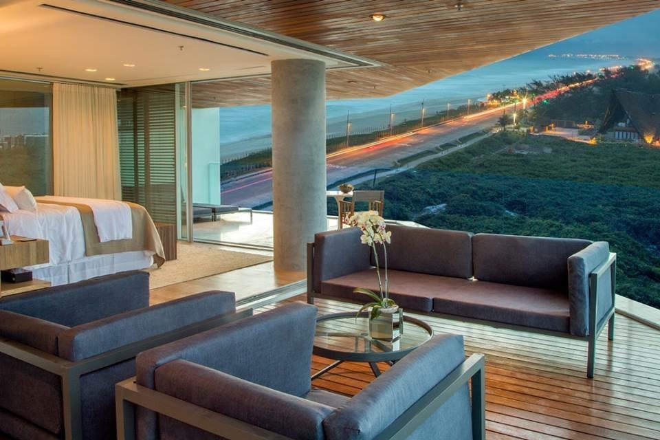 Apartamento venda com 4 quartos barra da tijuca rio de for Cabine del lago hyatt