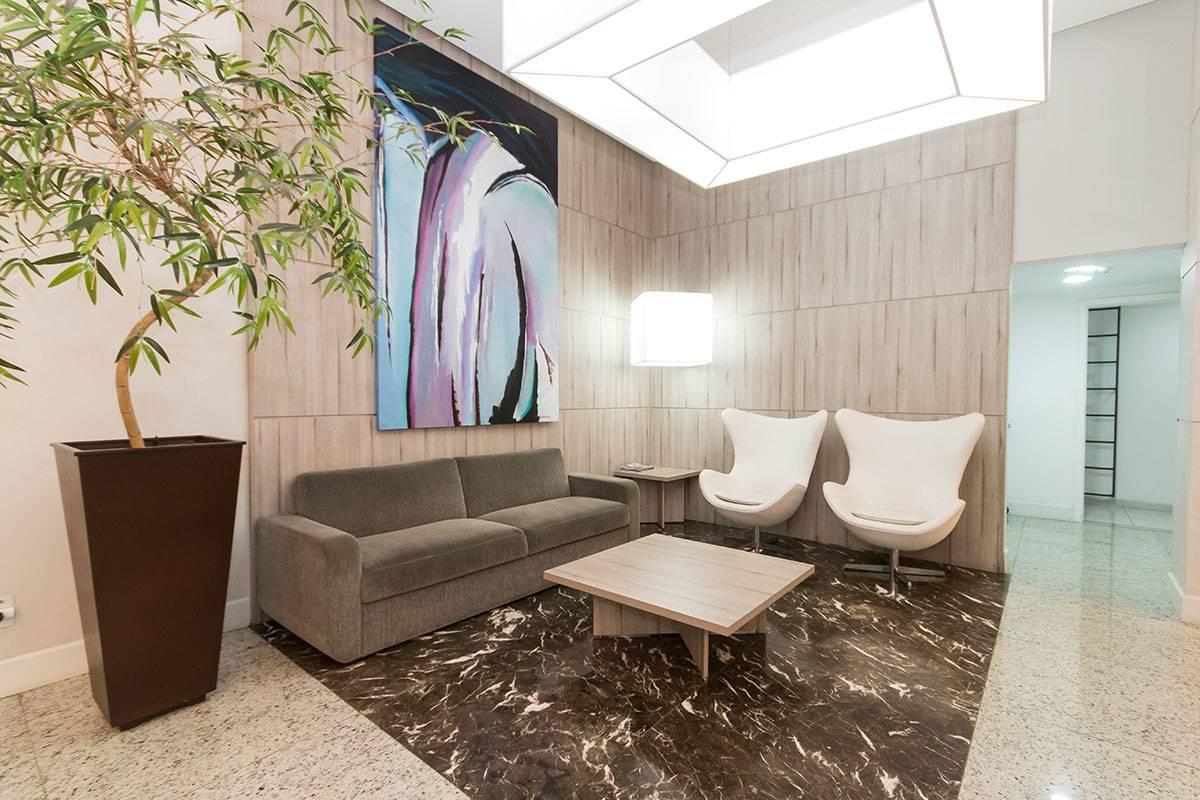 Imagens de #3E2D20 Apartamento para aluguel com 1 Quarto Centro Curitiba R$ 1.250 40  1200x800 px 2810 Box Banheiro Manchado
