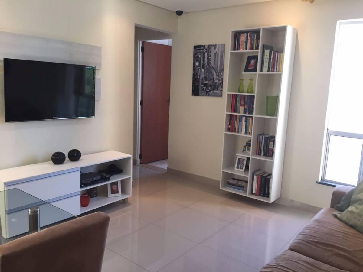 #515A7A Apartamento à venda com 2 Quartos Trobogy Salvador R$ 155.000  1200x900 px Armario De Cozinha Nas Casas Bahia De 199 00_1656 Imagens