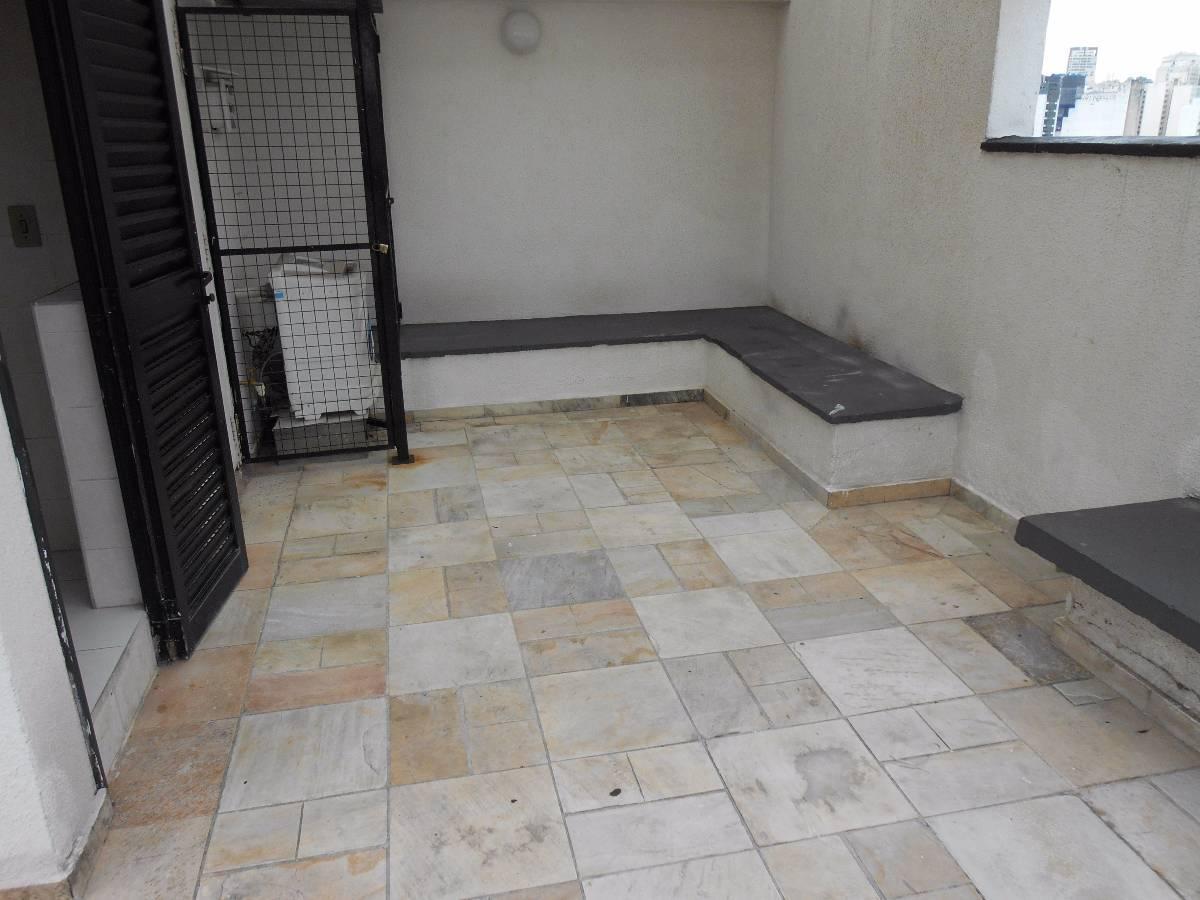 Apartamento para aluguel com 1 Quarto Bela Vista São Paulo R$ 1  #546677 1200x900 Banheiro Container Aluguel