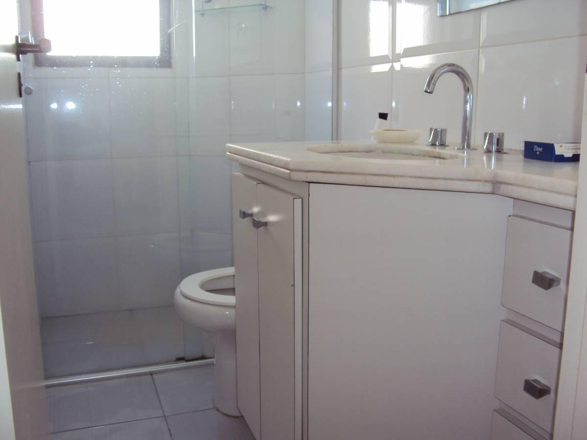 Apartamento para aluguel com 1 Quarto Vila Nova Conceição São  #5D656E 1200x900 Alarme Banheiro Deficiente