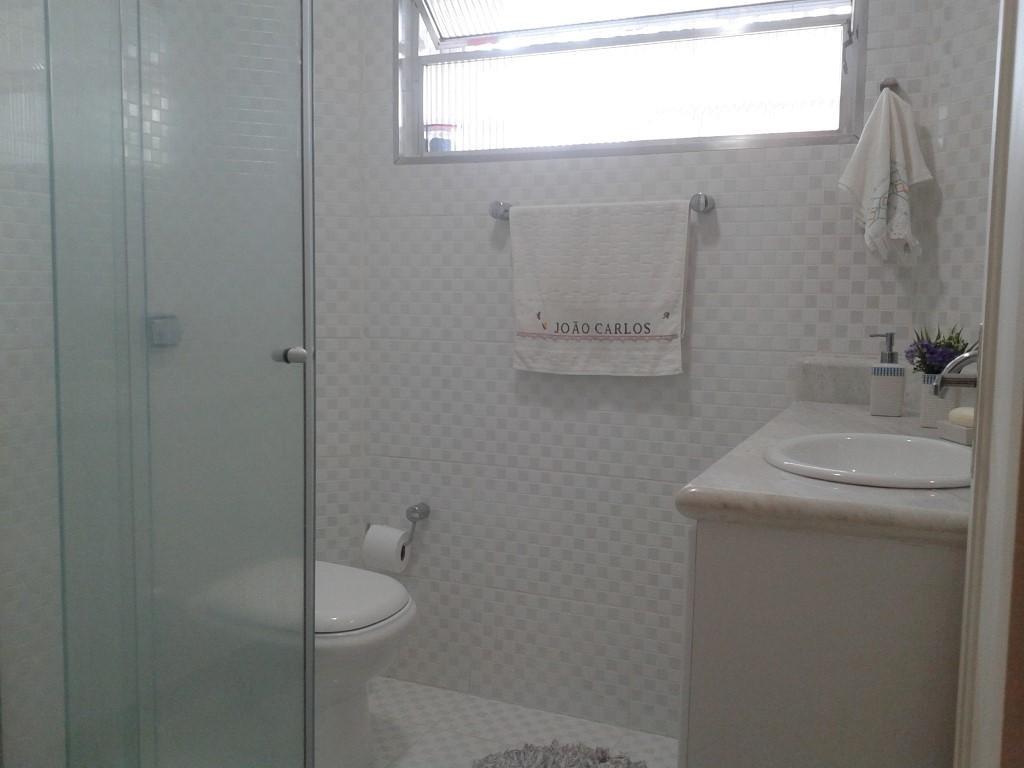 Imagens de #5A5047 Apartamento à venda com 1 Quarto José Menino Santos R$ 270.000  1024x768 px 2810 Box Banheiro Manchado