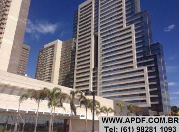 DF Century Plaza - AP. 01 ou 02 quartos - Águas Claras.