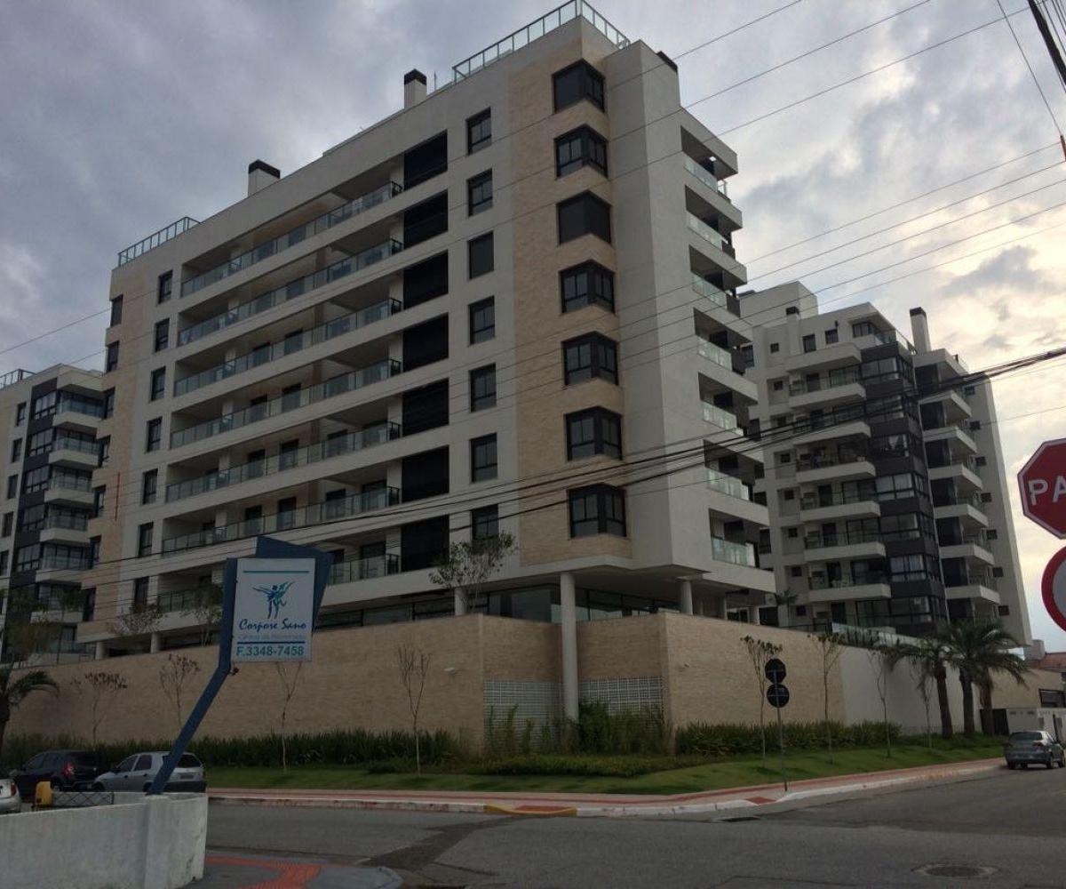 Apartamento novo 1 suíte e mais 2 dormitórios, Balneário do Estreito, Florianópolis
