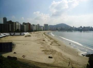 Apartamento  residencial para locação, Biquinha, São Vicente.