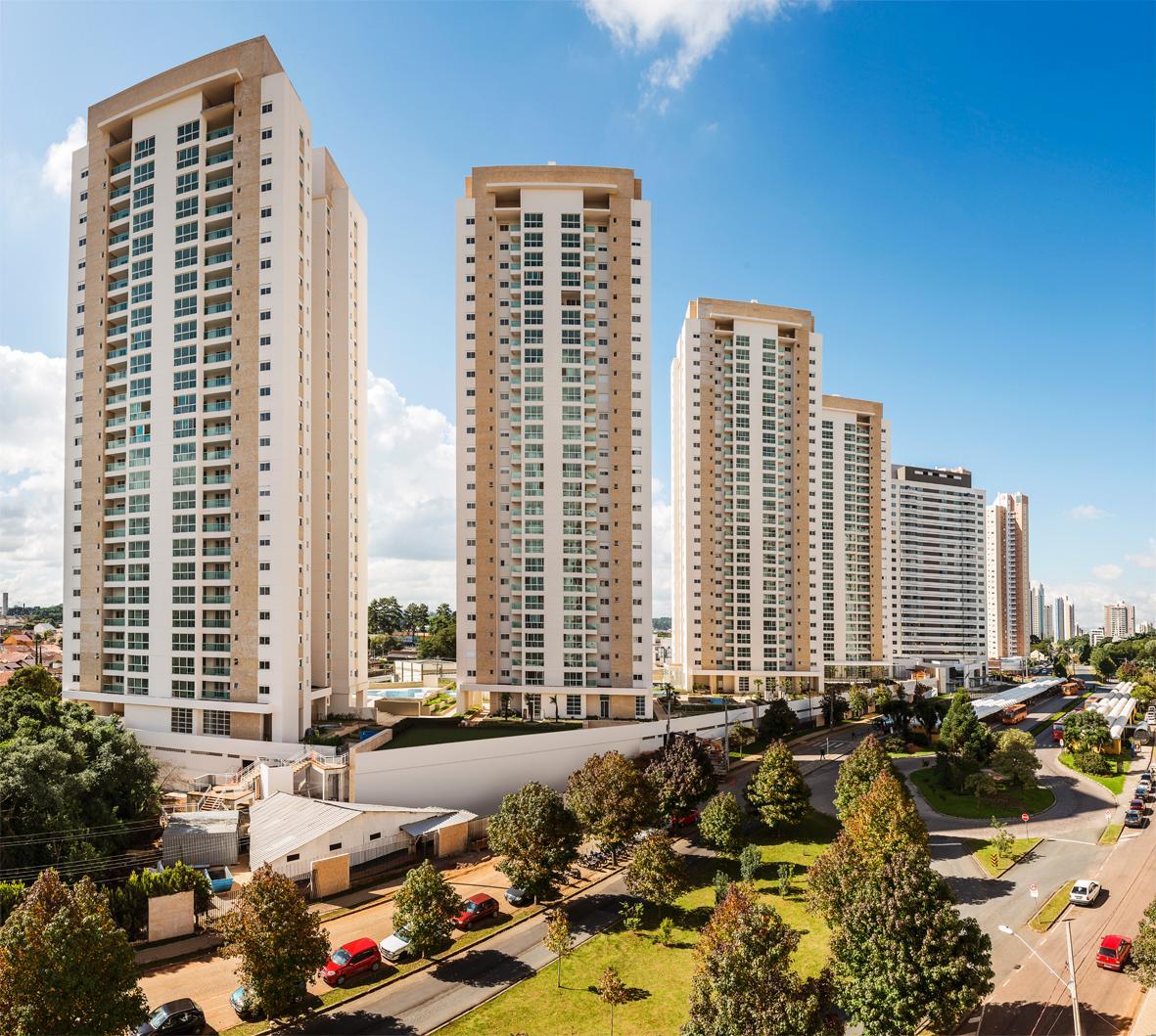 Apartamento para aluguel com 3 quartos ecoville curitiba for Apartamento mobiliado 3 quartos curitiba