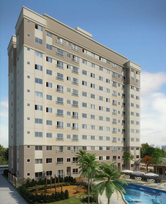 Apartamento com 03 dormitórios - condominio clube - Pinheirinho