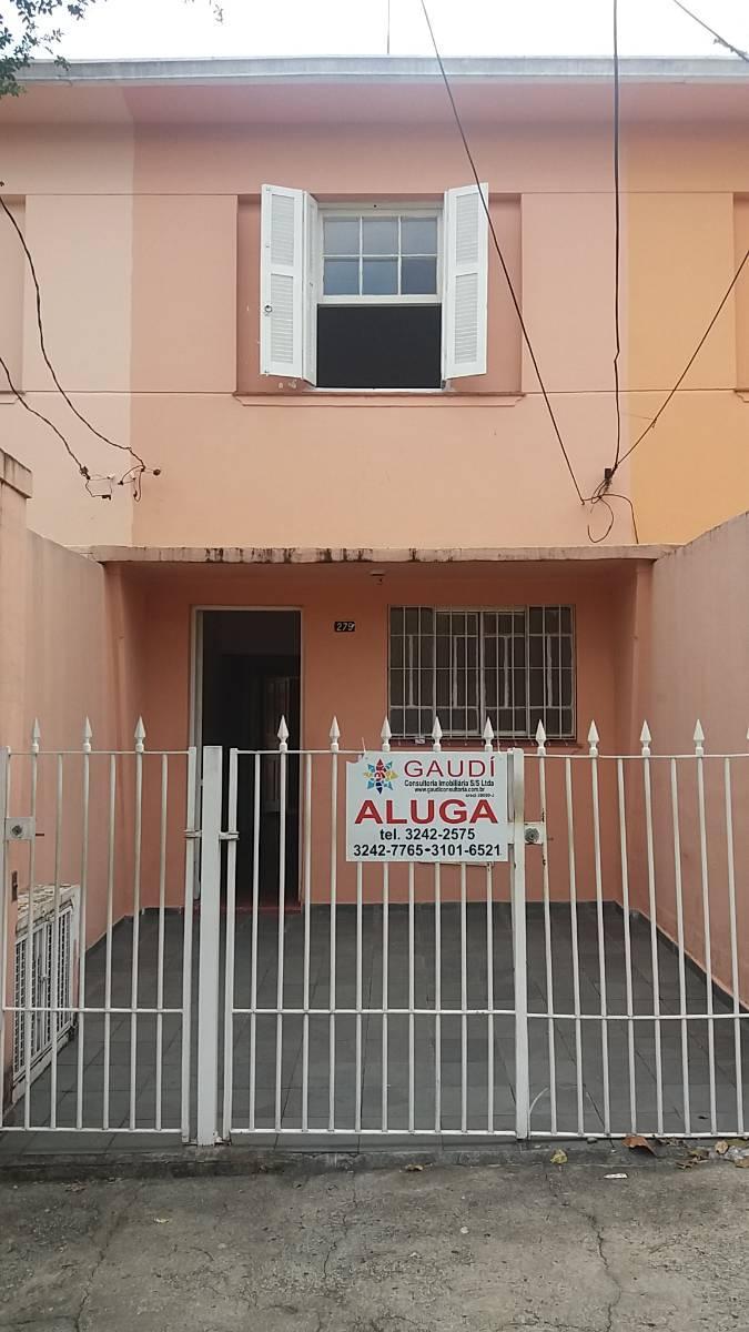 SOBRADO C/ 2 DORMS.E GARAGEM R$1.700 METRÔ ALTO DO IPIRANGA