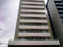 Apartamento de 1 dormitorio novo Bairro Canto do Forte Praia Grande
