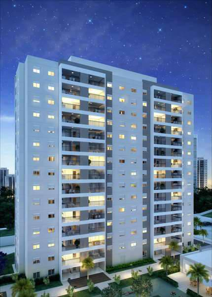 Apartamento com 2 dormitórios com 2 vagas