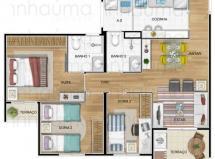 Apartamento para aluguel no Jaraguá