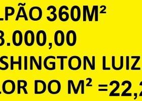 Galpão de 360m², Jd Primavera, Rod Washington Luiz em Duque de Caxias