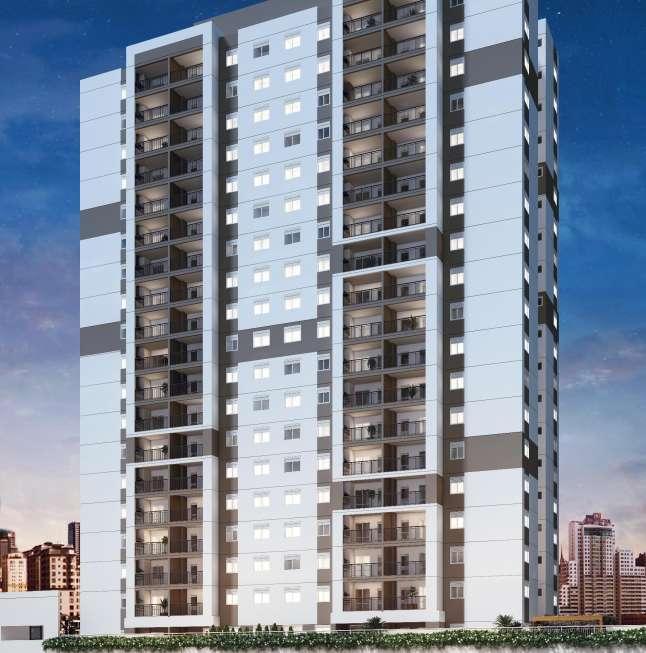Apartamento com 2 dormitórios Condomínio Vila Yara Osasco