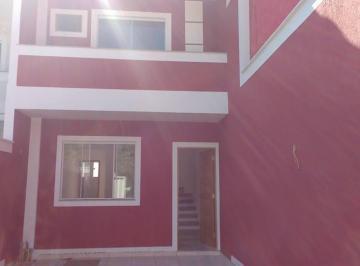 Lindas casas duplex, 02 qts, vaga de garagem e área