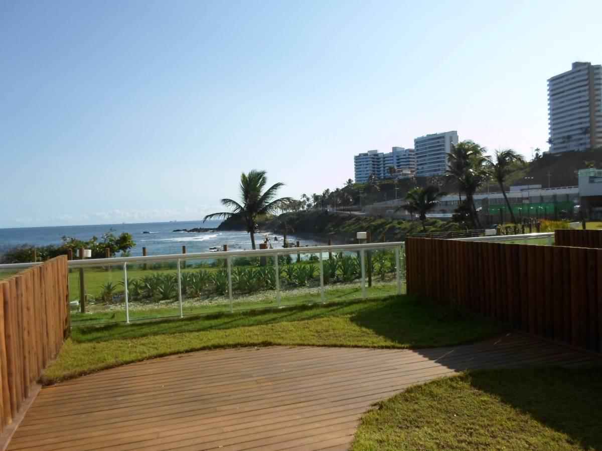 Costa Espanha, Cobertura Duplex , 146m² - frente mar
