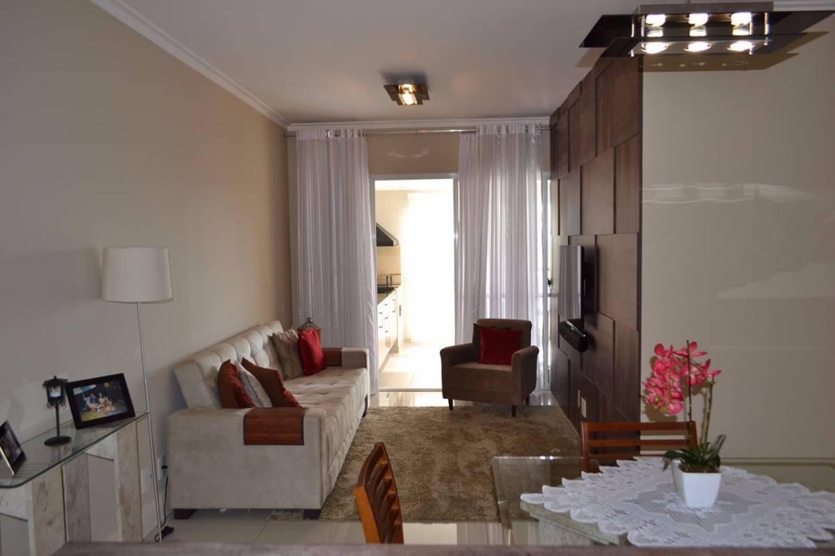 Apartamento impecável na Vila Romana, 3dorms, 1suíte, 2 vagas, 94m