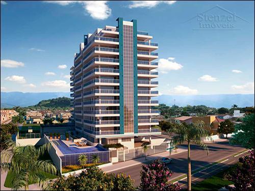 Apto Novo 3 Dorms (1 Suíte) Condomínio Frente ao Mar Centro Bertioga REF 342