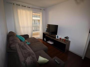 Condomínio Smero - Semi mobiliado 3 dormitórios com ampla sacada