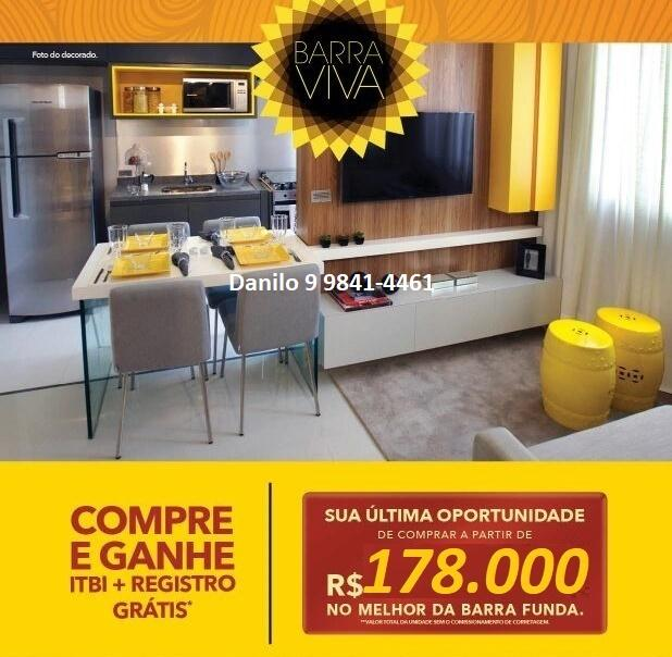 Apartamento 31m² na Barra Funda a esse preço?