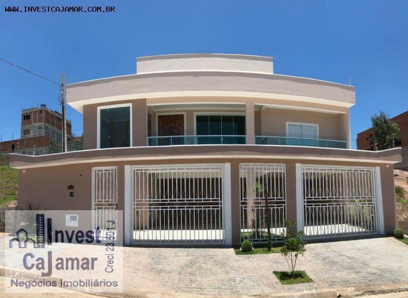 Casa no Portal Cajamar, Alto Padrão e com piscina, oferta mês de Abril R$ 740Mil