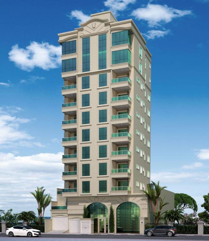 Apartamentos com 2 ou 3 suítes, 2 vagas, Meia Praia