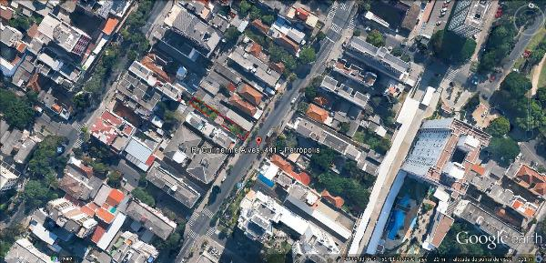 Terreno medindo 283m2 no bairro Jardim Botânico Porto Alegre RS