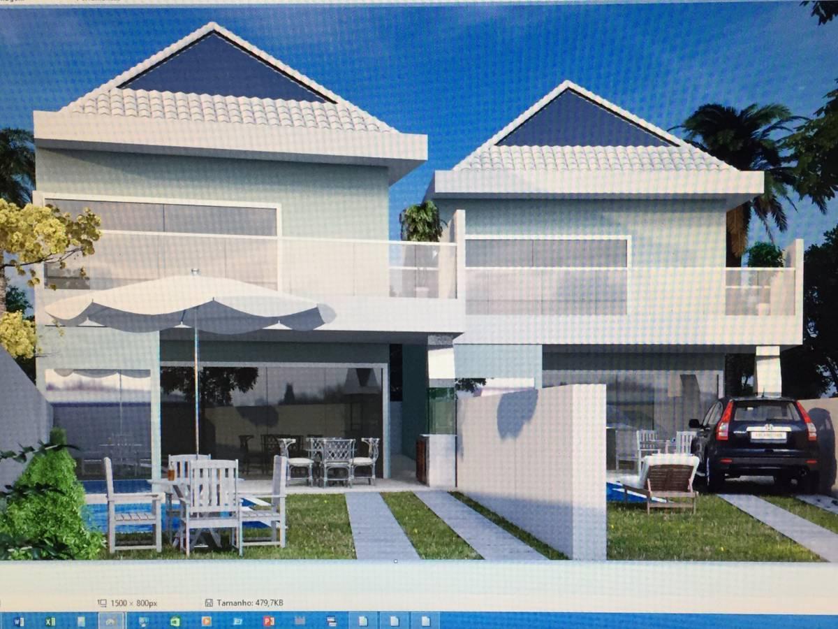 Blue House - Lote com 700mts - Projeto aprovado para duas casas