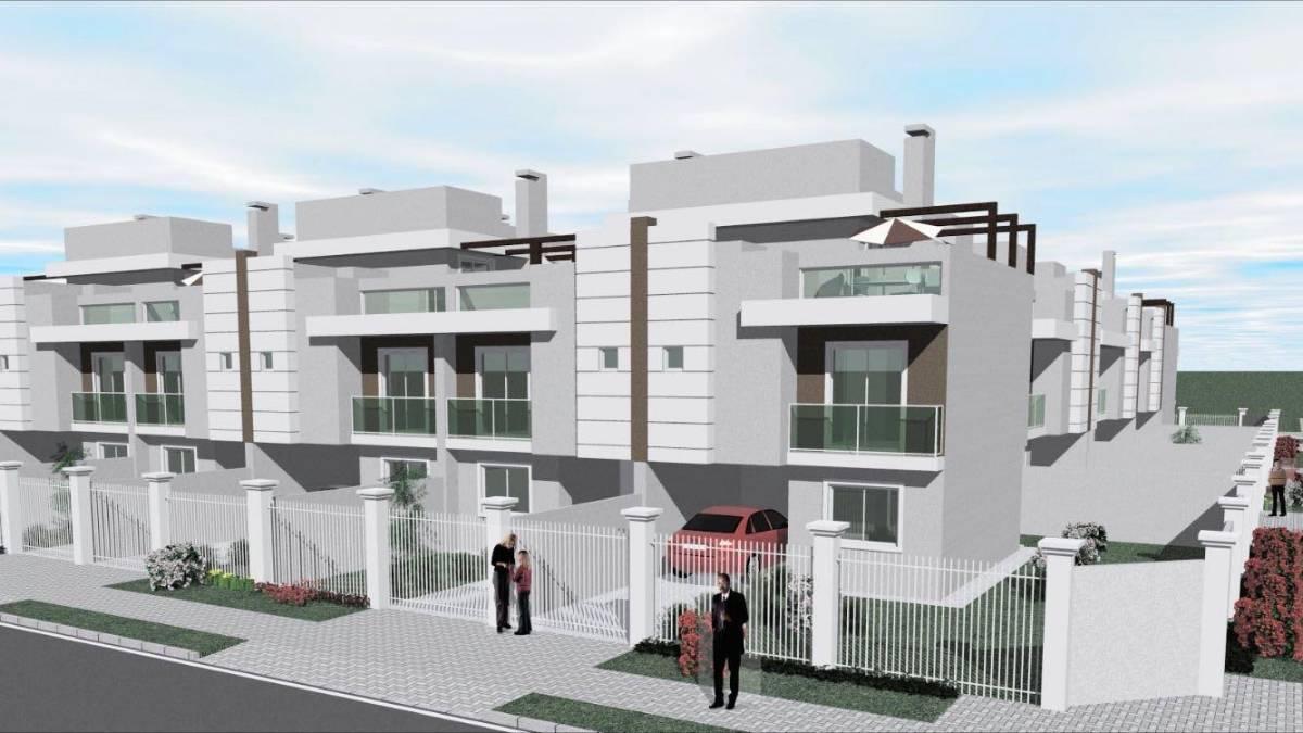 Excelentes sobrados tríplex internos, com ótima localização no bairro Xaxim.