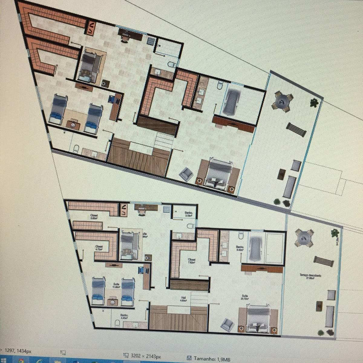 Blue House - Ultimo Terreno - Projeto aprovado para duas casas