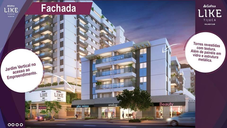 Lançamento Like Tijuca Village Club - 2, 3 e 4 quartos