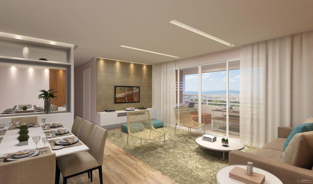 Apartamento 85m², 3 dormitórios -  2 vagas