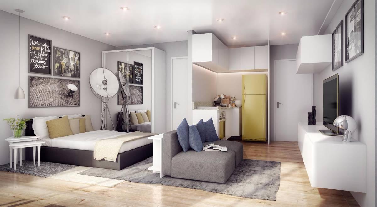 Lan amento real parque s o paulo r id for Como decorar apartamento de 42 metros cuadrados