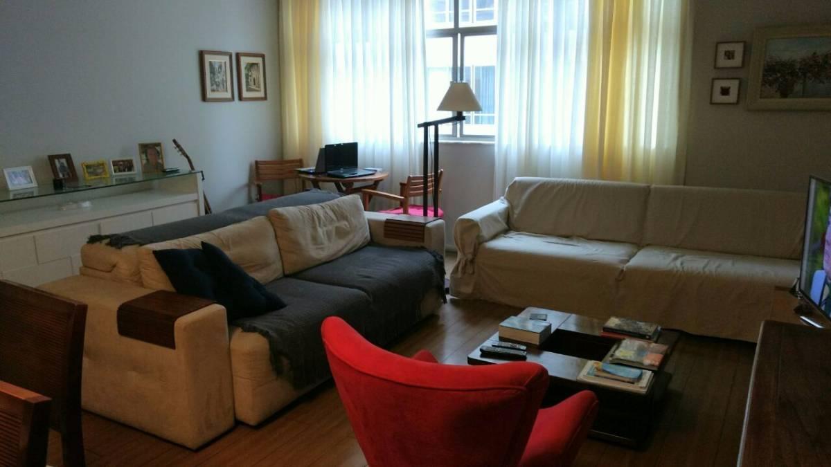 Copacabana Apartamento 3 quartos, 2 vagas, 1 quarto serviço Rio de Janeiro