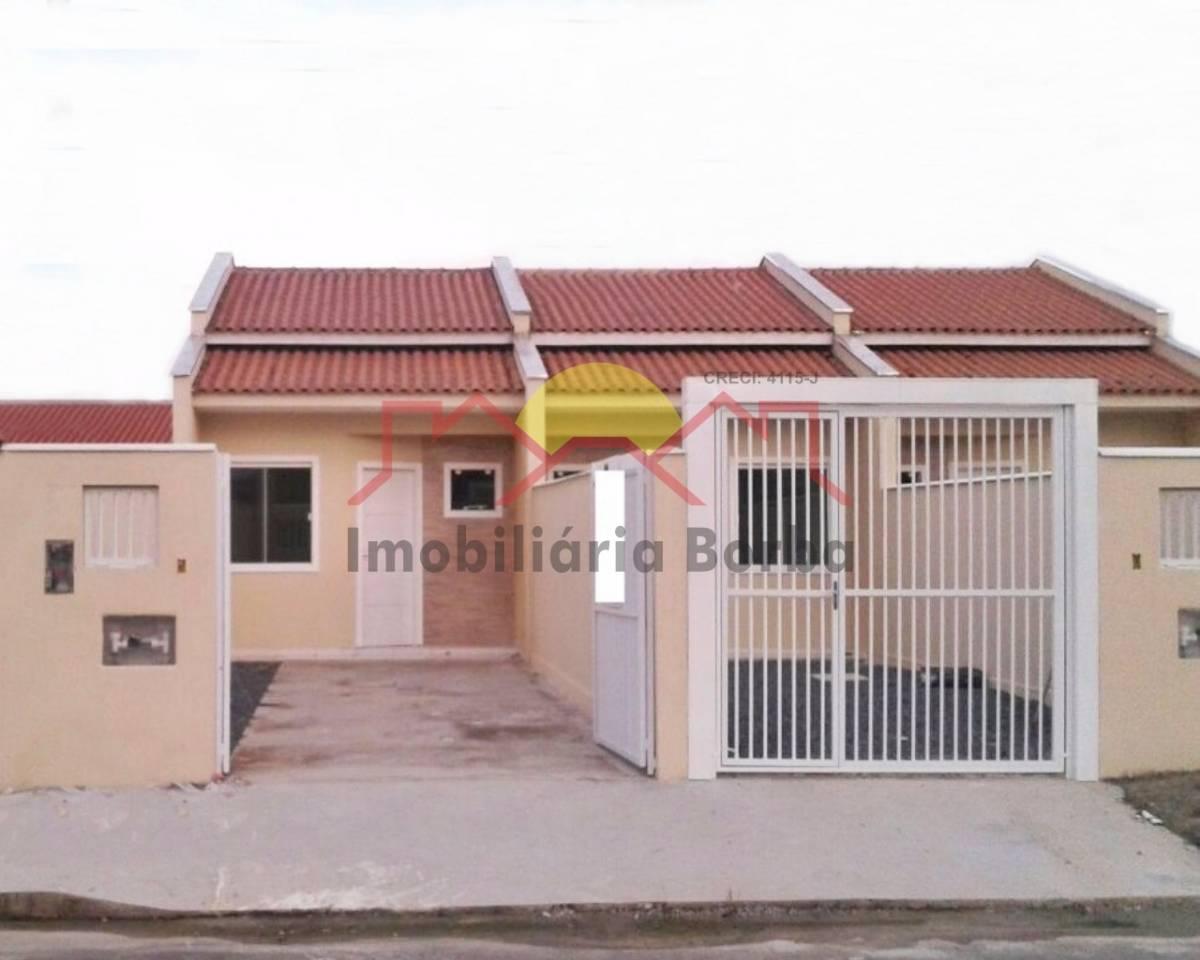 Linda Casa Geminada em Rua Pavimentada no Bairro Jardim Paraíso!