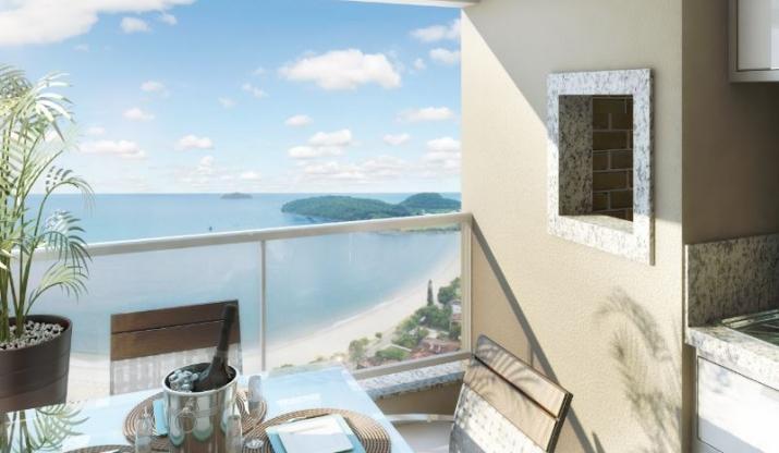Apartamentos novos em Penha - SC com  2 quartos com 77 m2  Itacolomi Home Club