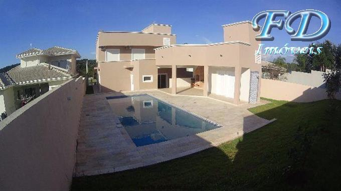 Linda casa a venda em Atibaia condomínio shamballa