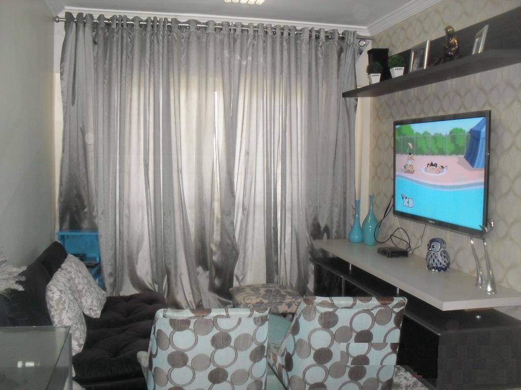 apartamento todo decorado 3 dormitórios vila ema