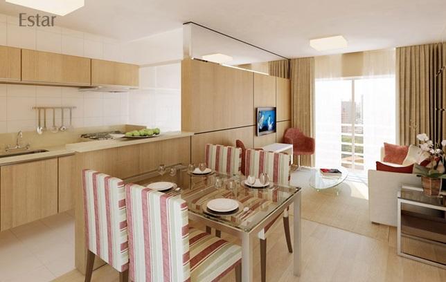 Apartamento 2 quartos com suite no Hauer