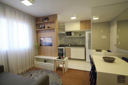 2 dormitórios l 1 vaga - à 400m do Shopping Aricanduva (decorado)
