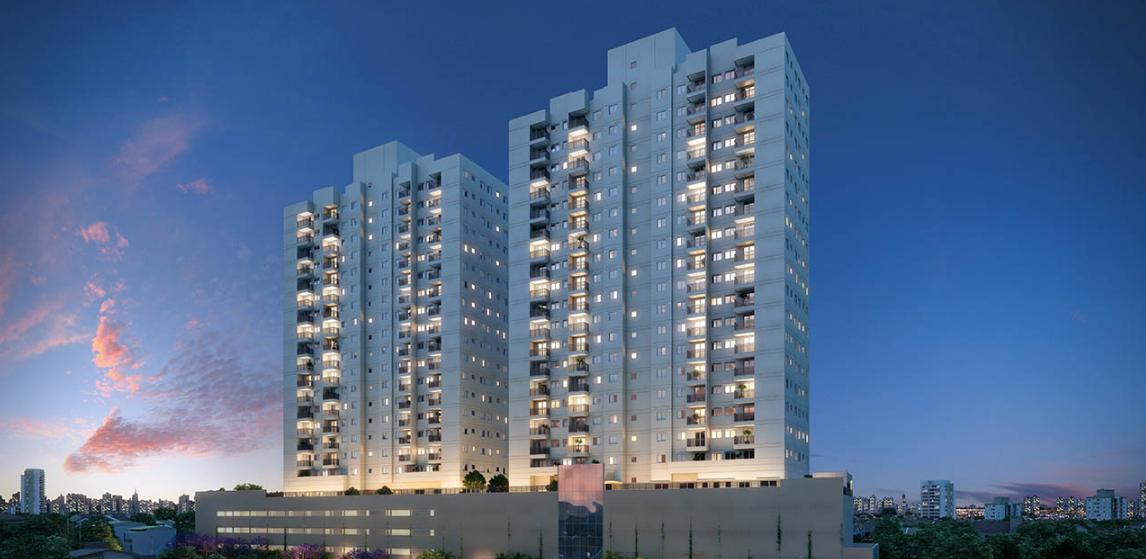 Em construção - Osasco - Muito lazer c/ terraço e vaga de garagem - 165.000*