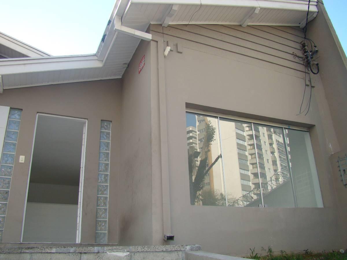 Casa comercial com 135m² no Batel - ZR4