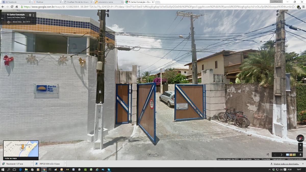 Temporada,  4/4 com 2 suítes condomínio fechado em BURAQUINHO !