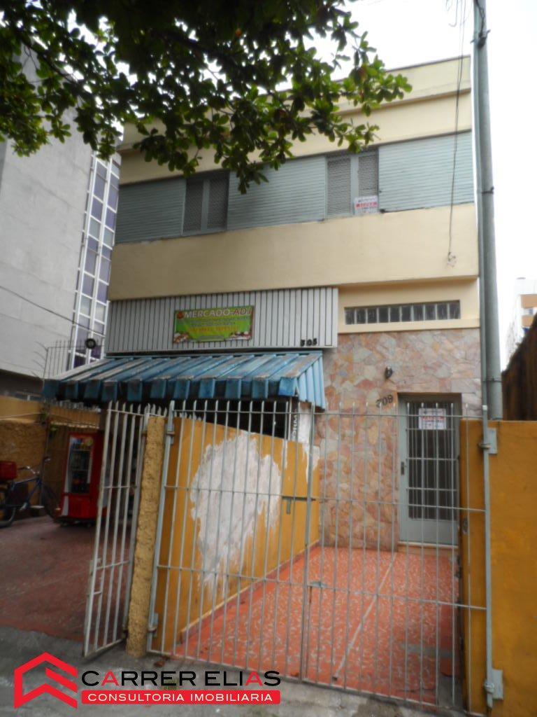 Ótima casa sobre loja na Vila Clementino disponível para locação.